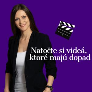 žena a filmová klapka